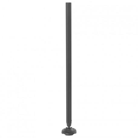 Rive Láb fix D36 Fekete színben (750mm)
