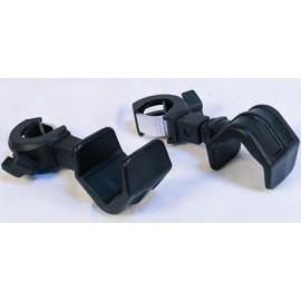 Rive Oldalsó mûanyag rakósbot tartó adapter párban D25