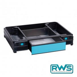 Waterproof front drawer tray 66 mm