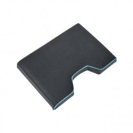 Rive zselés ülés levehető bottartó nélkül-requin huzattal fekete/aqua
