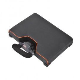 Rive zselés ülés levehető bottartóval-elephant huzattal fekete/mango