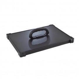 Rive alumínium koffer tetővel-fekete