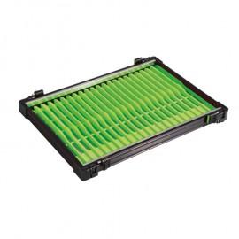 Rive létrás fekete modul, 22db zöld színű létrával