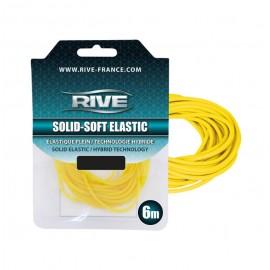 Rive Solid-Soft tömör gumi 3,20mm 6m Sárga