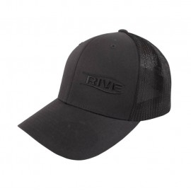 Rive FLexfit Cap Black Mesh XL