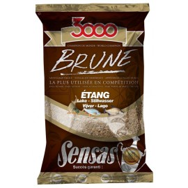 Sensas 3000 Lake Brown 1kg
