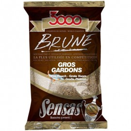 Sensas 3000  Big Roach Brown 1kg