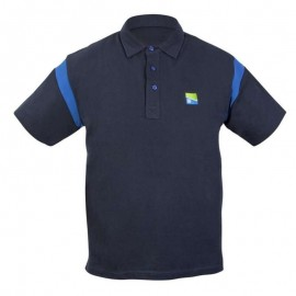 PRESTON NAVY POLO SHIRT - LARGE póló