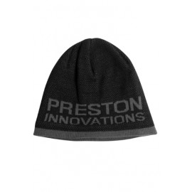 PRESTON BLACK/ GREY BEANIE HAT