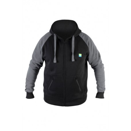 Preston Black Celsius Zip Hoodie - XXL