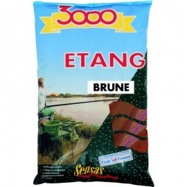 Sensas 3000 Etang Brown Lake 1kg