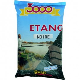 Sensas 3000 Etang Black Lake 1kg