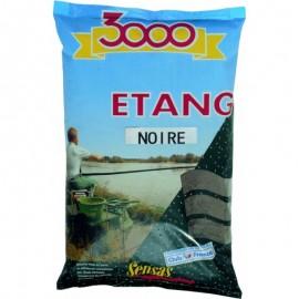 Sensas 3000 Etang Black Lake 1kg