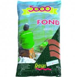 Sensas 3000 Fond Brown 1kg