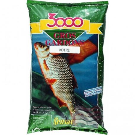 Sensas 3000 Gros Gardons Big Roach Black 1kg