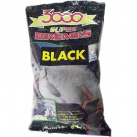 Sensas 3000 Bream Black 1kg