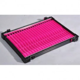 Rive Létrás modul fekete, 22 db rózsaszín létrával