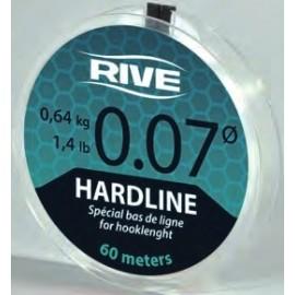 Rive HARDLINE elõkezsinór víztiszta 60m