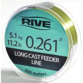 Rive LONGCAST FEEDER LINE sötétzöld 300m